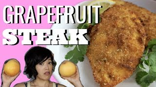 GRAPEFRUIT PEEL STEAK Bistec de Toronja | HARD TIMES - recipes from times of food scarcity