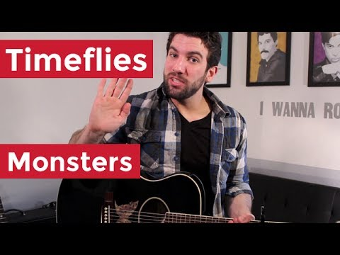 Timeflies - Monsters (Guitar Chords & Lesson) by Shawn Parrotte