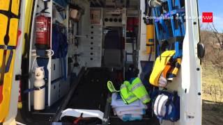 24.2.15 Accidente camión. San Fernando de Henares