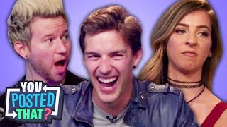 Download MatPat, Gabbie Hanna, and Ricky Dillon | You Posted That? Mp3 and Videos
