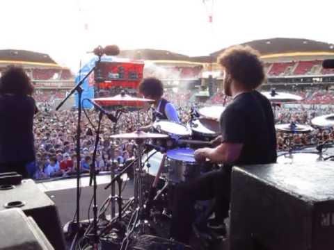 Dave Elitch Drum Cam - The Mars Volta. COMPLETE SHOW.