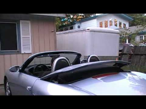 Porsche Boxster Convertible Top Motor Running Up And Down