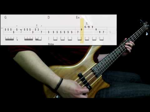 U2 - Sunday Bloody Sunday (Bass Cover) (Play Along Tabs In Video)