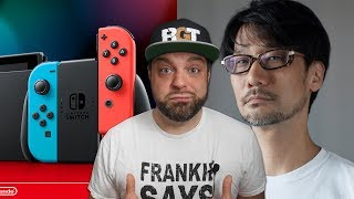 FAKE Switch Games Sold on Amazon + Kojima TRASHES Gamers!