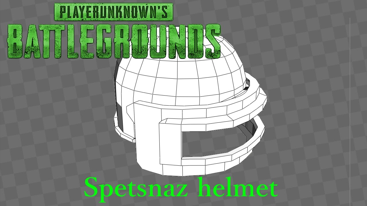 3d Model Playerunknown S Battlegrounds Buggy By Kmiklas: PLAYERUNKNOWN'S Battlegrounds Spetsnaz Helmet
