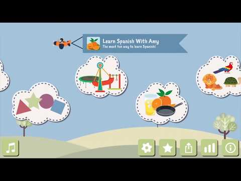 Children Spanish learning app for toddlers and preschoolers
