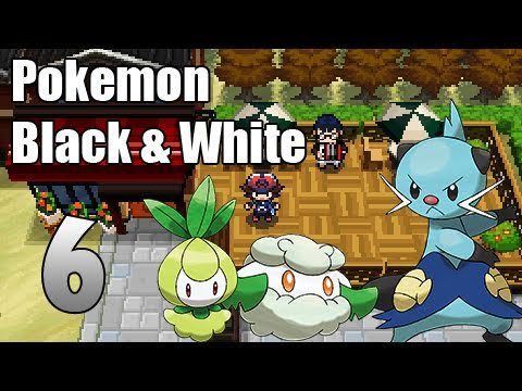 Pokémon Black & White - Episode 6 | Nacrene City!