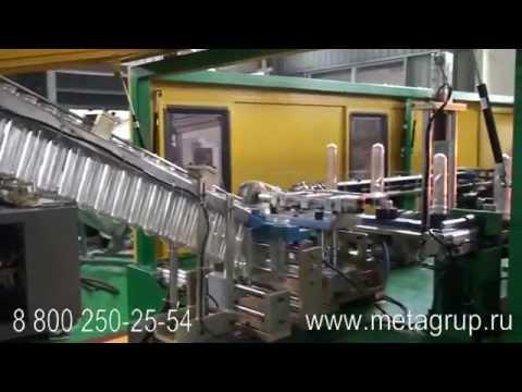 Автомат выдува ПЭТ бутылок 5 л / 900 бут час - YouTube
