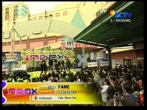 Fame - 123456789,Live Performed di INBOX (03/10) Courtesy SCTV