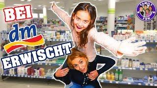 Bei DM ERWISCHT und VERFOLGT - Mega PEINLICH - Our life Family Fun