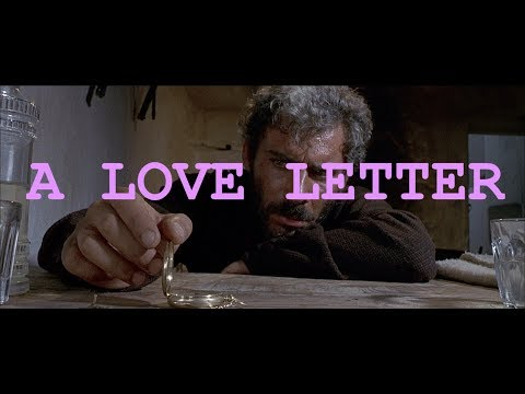 FOR A FEW DOLLARS MORE (A Love Letter)