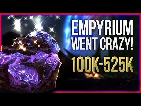 Empyrium Farming Went Crazy! 100k525k PER HOUR