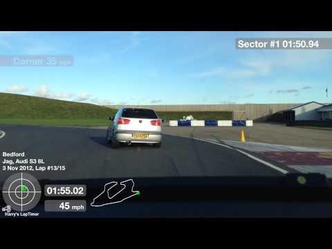 Bedford Autodrome GT Circuit Lap 13