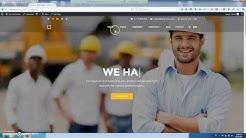 Construction Company One Click Import Demo Content