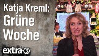 Reporterin Katja Kreml auf der Grünen Woche