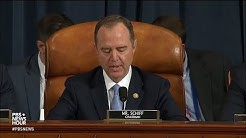 WATCH: Rep. Schiff's full opening statement on day one of public impeachment hearing