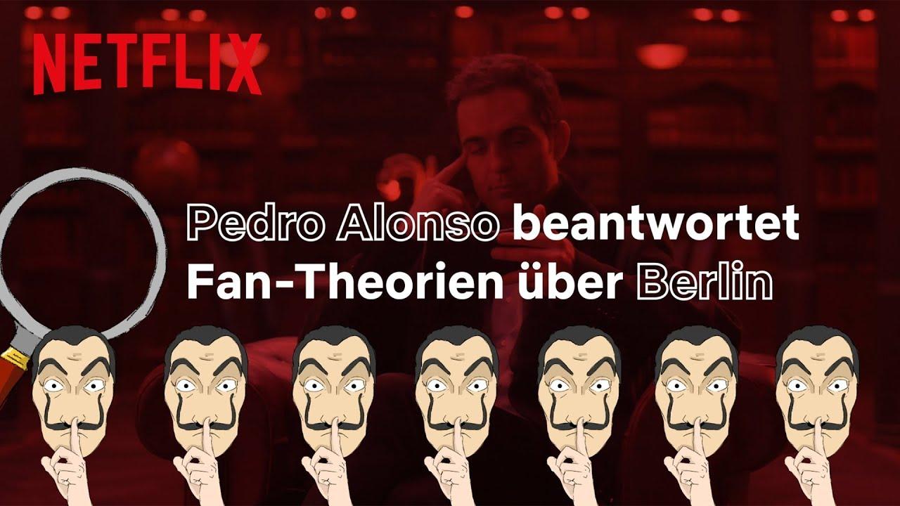 Haus des Geldes | Pedro Alonso (aka Berlin) beantwortet Fragen über Berlin  I Netflix - YouTube