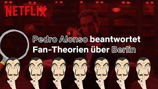 Haus des Geldes | Pedro Alonso (aka Berlin) beantwortet Fragen über Berlin I Netflix