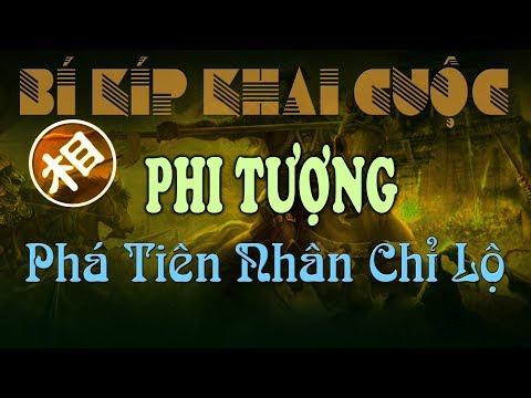 Cờ Tướng Cách Chơi PHI TƯỢNG CỤC Phá TIÊN NHÂN CHỈ LỘ Của Hồ Vinh Hoa Cẩm Nang Khai Cuộc Hay