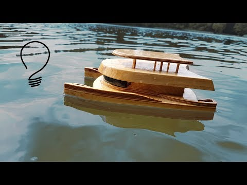 Unsinkable Catamaran Toy - How To Build - YouTube