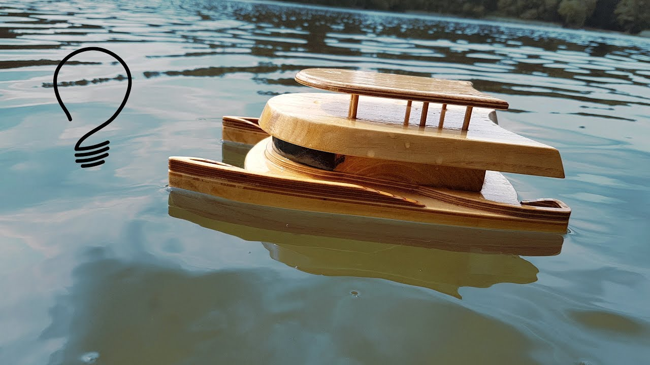 Unsinkable Catamaran Toy How To Build
