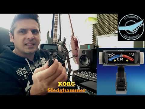 Test accordeur KORG Sledgehammer