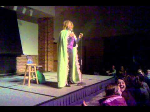 GloZell Comedy Stand-up at Furman University, Greenville, SC, October 18, 2011