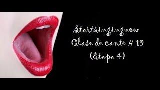 Startsingingnow - Clase de canto #19 - (etapa 4) Estabilización de la laringe