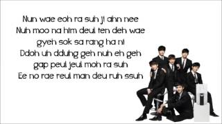 Video 2PM  - Thank you (lyrics) download MP3, 3GP, MP4, WEBM, AVI, FLV Juli 2018