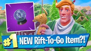 FORNITE - NEW ITEM: RIFT-TO-GO| PS4/XBOX ONE/PC