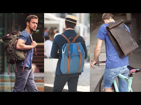 The Most Stylish Backpacks For Guys