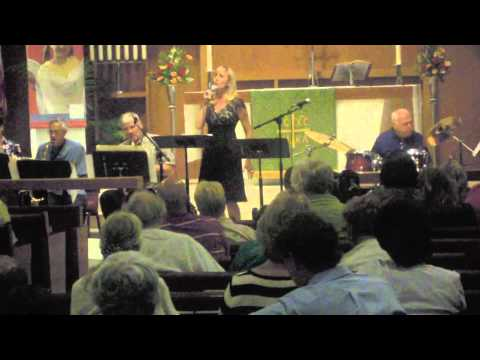 """Dawn Holt Lauber with Churchjazz in """"Everytime I feel the Spirit"""""""