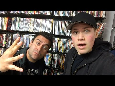 Blu-ray and Dvd Hunting (Thrift Stores, Retro Video Games, Sushi Bar)