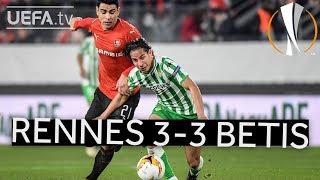 RENNES 3-3 BETIS #UEL HIGHLIGHTS