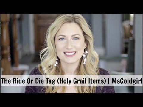 Ride Or Die Tag | MsGoldgirl