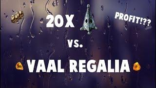 20 RESONATORS VS. VAAL REGALIAS EXPERIMENT! (Path of Exile Fossil Crafting)