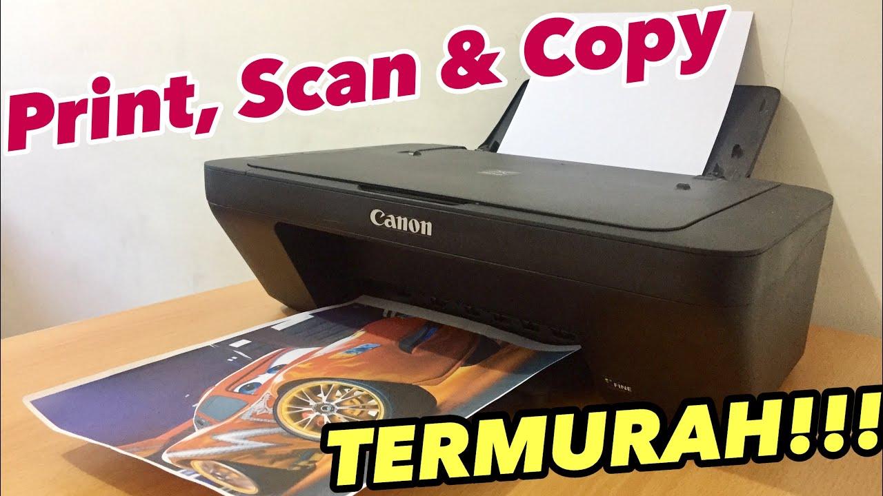 Review Printer Canon Pixma Mg2570s Indonesia 2019 Murah Lengkap Dan Mantap Youtube