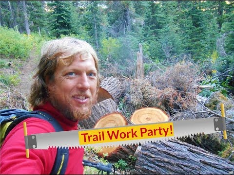 Trail Work Party on The Idaho Centennial Trail - to Burnt Knob Lookout