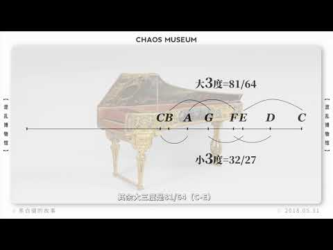 黑白鍵的故事 The story of al notes丨Chaos Museum