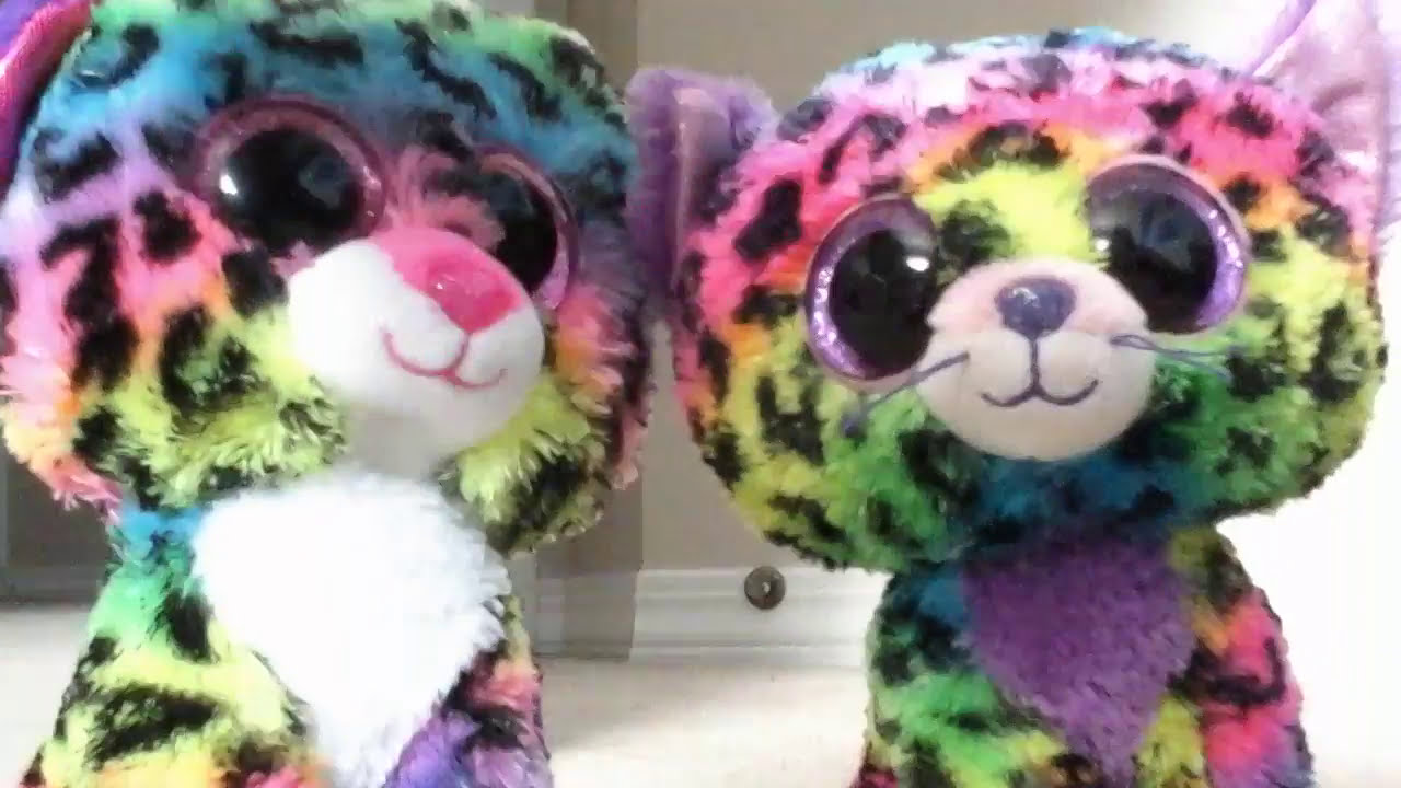 d83cf73a72b The Differences Between Trixie and Dotty (BEANIE BOO  123 - DOTTY) - YouTube