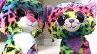 The Differences Between Trixie and Dotty (BEANIE BOO #123 - DOTTY)