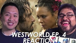 Repeat youtube video Westworld Episode 4 Reaction and Review 'Dissonance Theory'
