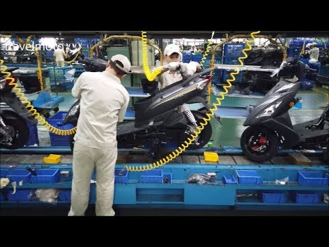 SYM Scooter Factory (Line Production)