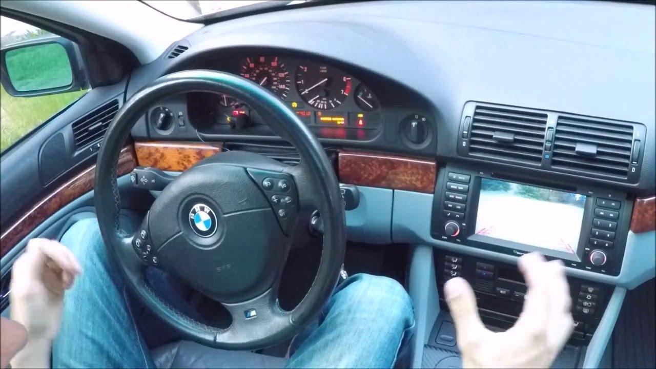 EONON GA5166F Update BMW E39 528i
