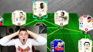 5 PRIME ICONS MOMENTS + 3 SOMMERHITZE in 195 Rated Fut Draft Challenge! - Fifa 20 Ultimate Team