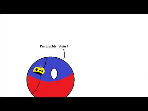 Countryballs -  Poor Liechtenstein