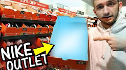 NIKE OUTLET SHOPPING!!! SNEAKER STEALS!!!