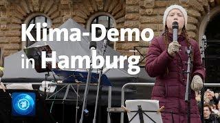Live: #FridaysForFuture in Hamburg mit Greta Thunberg