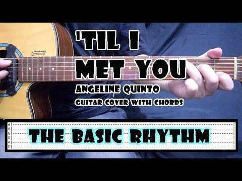 Till I Met You - JaDine OST   Guitar Cover with Chords   No Capo