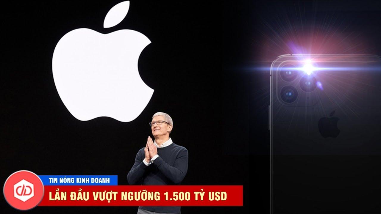 Apple Trở Thành Công Ty Công Nghệ Giá Trị Nhất Thế Giới, Lần Đầu Vượt Ngưỡng 1.500 Tỷ USD